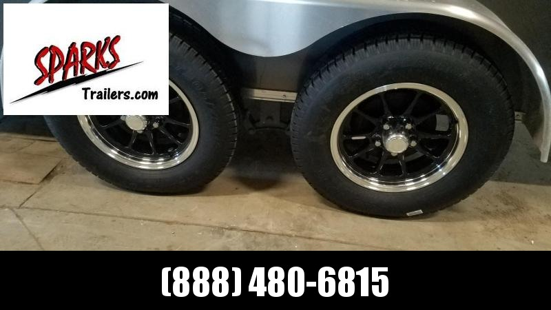 Black Fin Aluminum Rims with tires!!