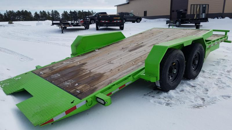 Sparks  22' tilt Equipment Trailer (16' on the tilt +4' stationary)