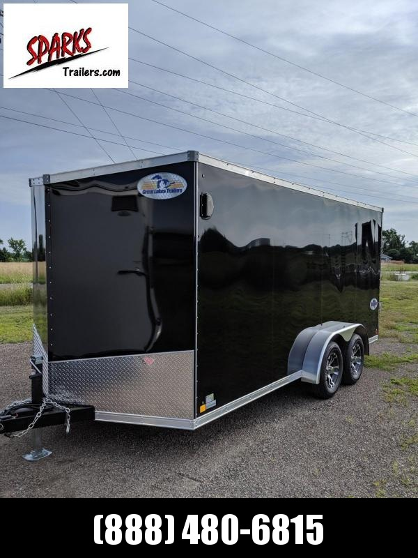Sparks Trailers 7x16 Enclosed Cargo Trailer