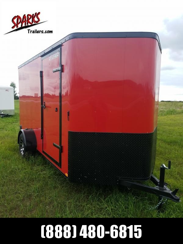 Sparks 6X12'  Enclosed Trailer with Black out Trim!!  in  ND