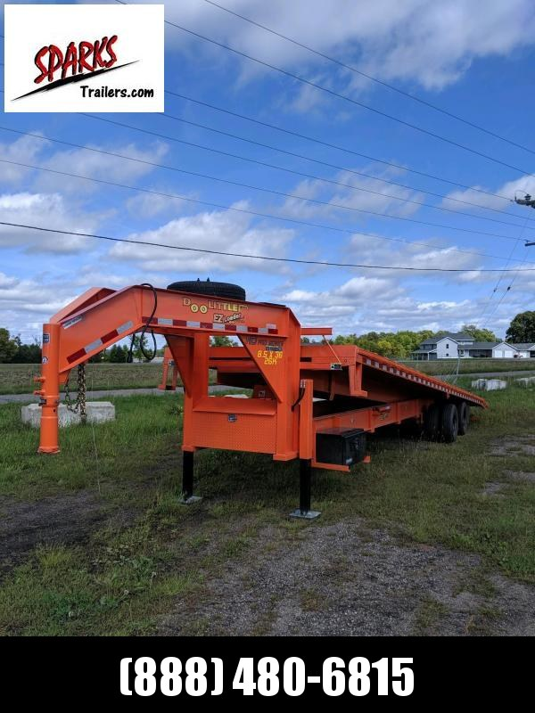 Sparks 36' Tilt Gooseneck 12k axles and Hyd Jacks!!