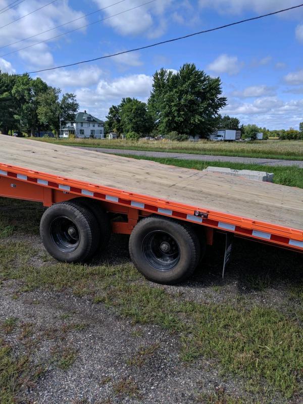 Sparks 36' Tilt Gooseneck 12k axles and Hyd Jacks!!