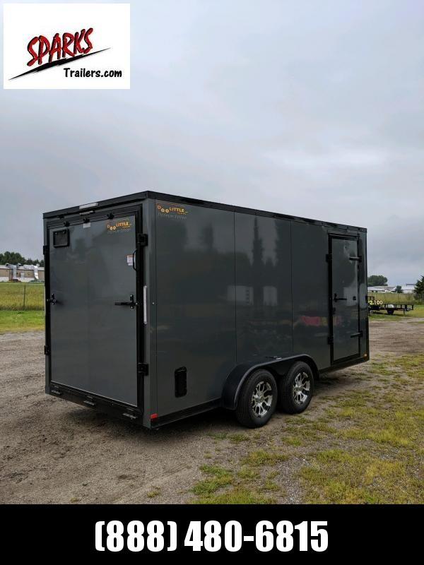 Doolittle 7'X16' Enclosed Black out Trim!! (Avon)
