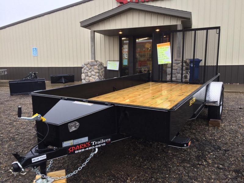 Doolittle  12' Solid Side Utility Trailer