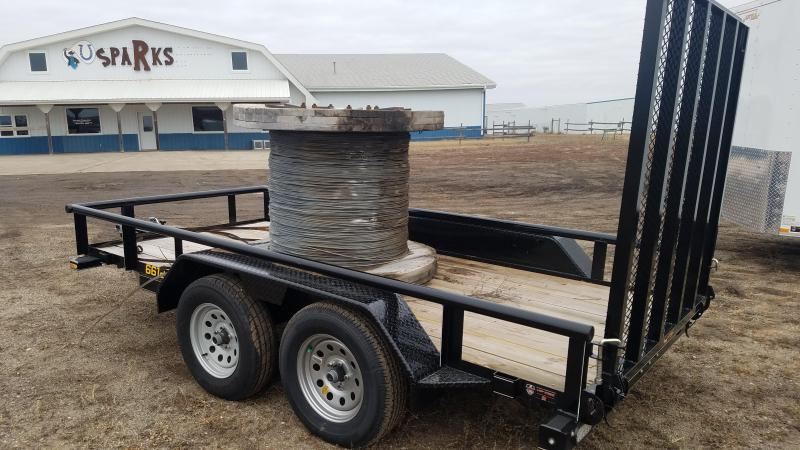 "Sparks 66"" X 12' with Tandem Axles"