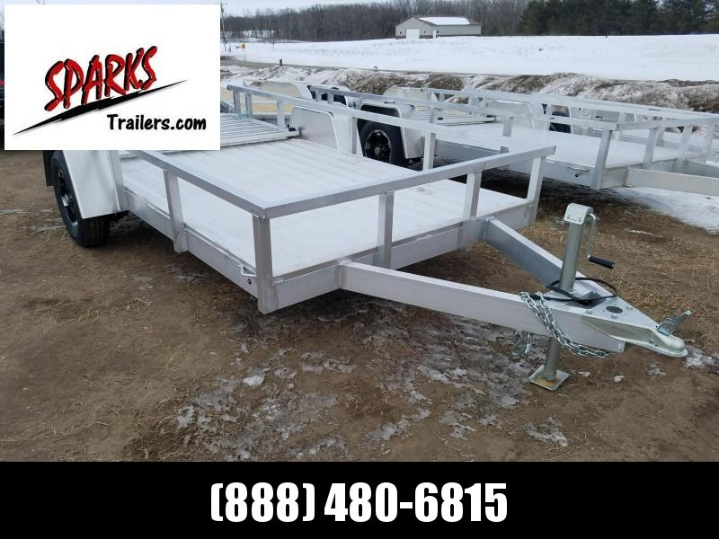 6x12' Aluminum-Frame Bed and Rims !!