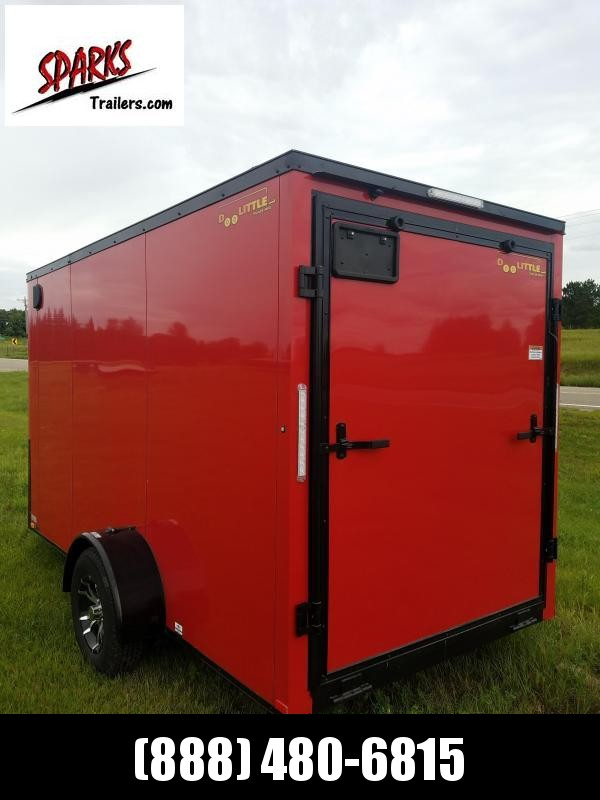 Sparks 6X12'  Enclosed Trailer with Black out Trim!!
