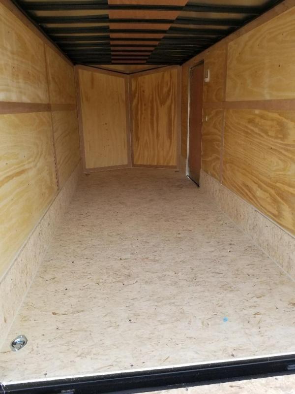 Sparks 7x16 v nose Enclosed  Trailer (7' Interior Hgt.)
