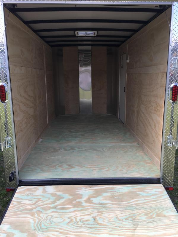 2020 Arising 6x12 Tandem Axle Enclosed Cargo Trailer