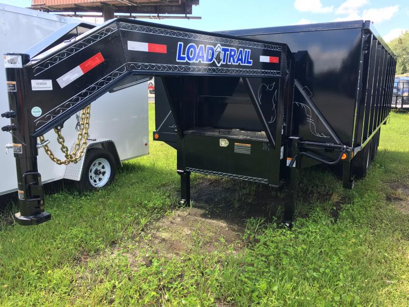 2019 Load Trail 8.5x18 Gooseneck Dump Trailer
