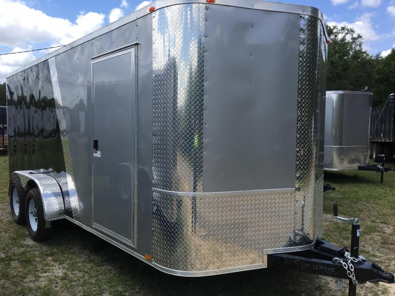 2020 Arising 7x16 Tandem Axle Enclosed Cargo Trailer