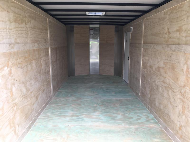 2020 Arising 7x16 Tandem Axle Enclosed Cargo Trailer