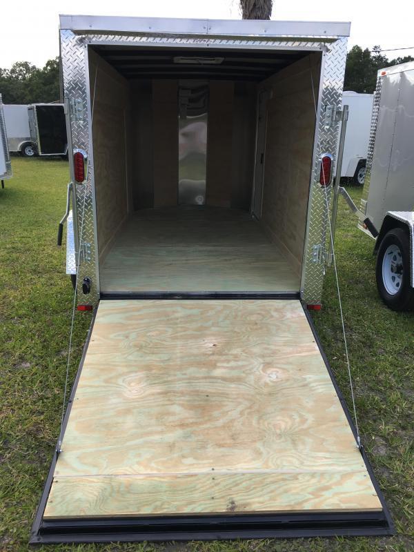 2019 Arising 5x10 Single Axle Enclosed Cargo Trailer