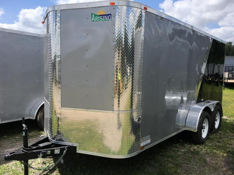 2020 Arising 7x14 Tandem Axle Enclosed Cargo Trailer