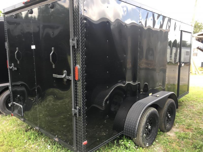 2019 Arising 7x14 Tandem Axle Enclosed Cargo Trailer