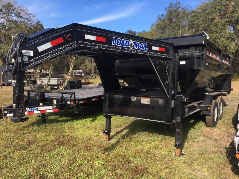 2020 Load Trail 7x14 GN Drop N GO Roll Off Dump Trailer