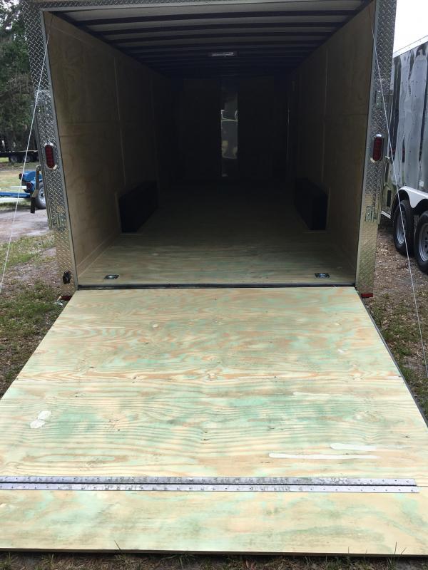 2019 Arising 8.5x24 Tandem Axle Enclosed Cargo Trailer