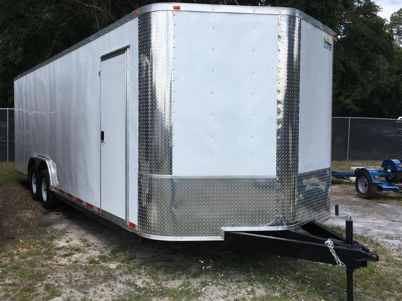2020 Arising 8.5x24 Tandem Axle Enclosed Cargo Trailer