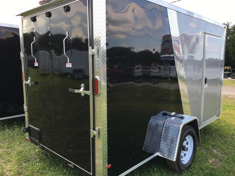 2020 Arising 6x12 Single Axle Enclosed Cargo Trailer
