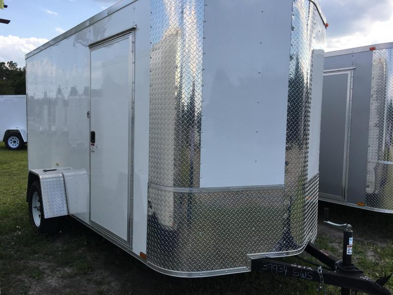 2020 Arising 6x12 Single Axle Enclosed Cargo Trailer