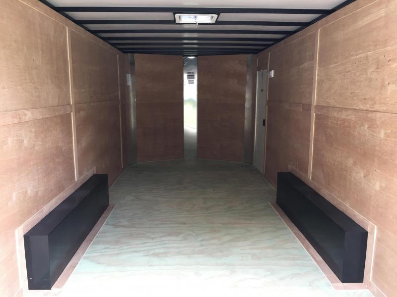 2018 Arising 8.5x18 Tandem Axle Enclosed Cargo Trailer