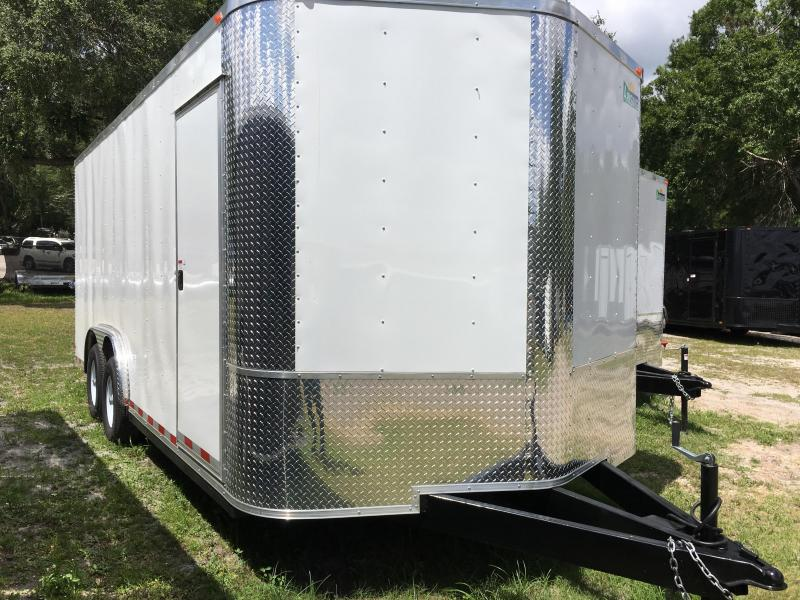 2020 Arising 8.5x18 Tandem Axle Enclosed Cargo Trailer