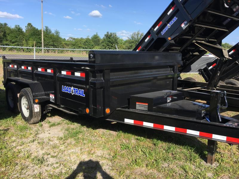 2019 Load Trail 7x14 Heavy Duty Dump Trailer