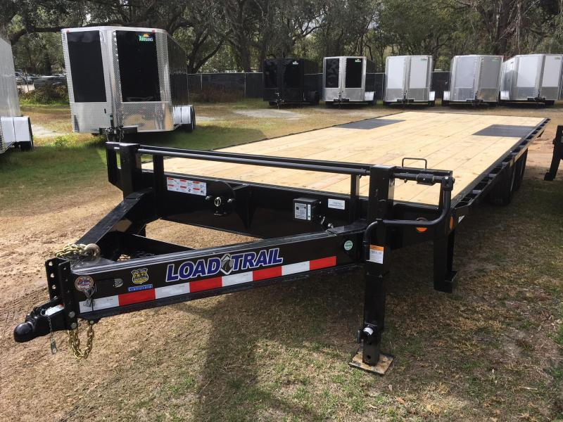 2020 Load Trail 102x24 Straight Deck Equipment Trailer