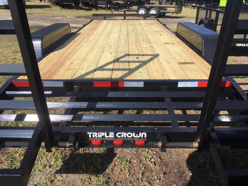 2019Triple Crown Trailers 7x20  14K Equipment Trailer