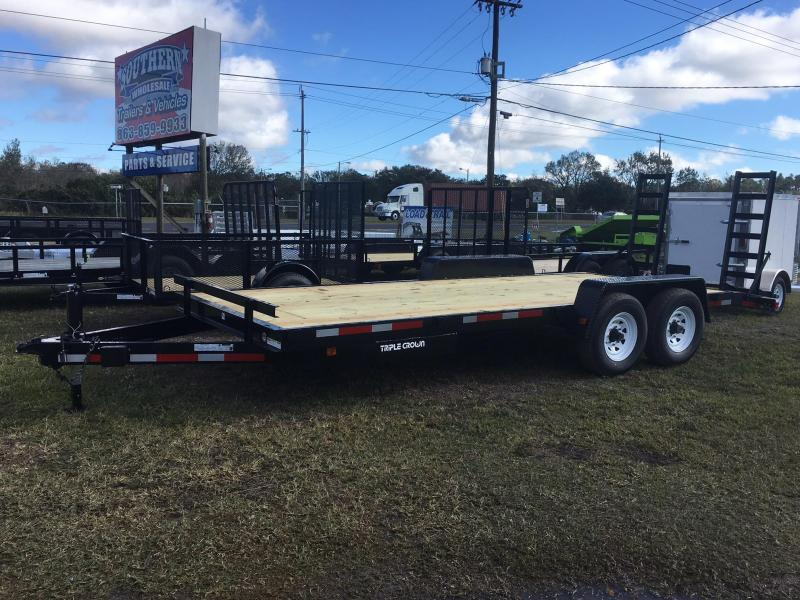 2019Triple Crown Trailers 7x20  14K Equipment Trailer
