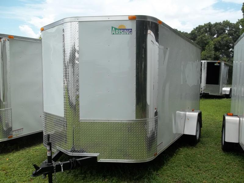 2020 Arising 7x12 Single Axle Enclosed Cargo Trailer