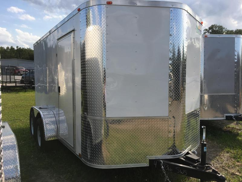 2019 Arising 7x12 Tandem Axle Enclosed Cargo Trailer