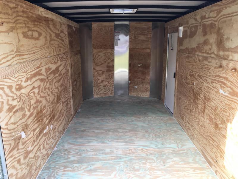 2019 Arising 7x12 Tandem Axle Enclosed Cargo Trailer