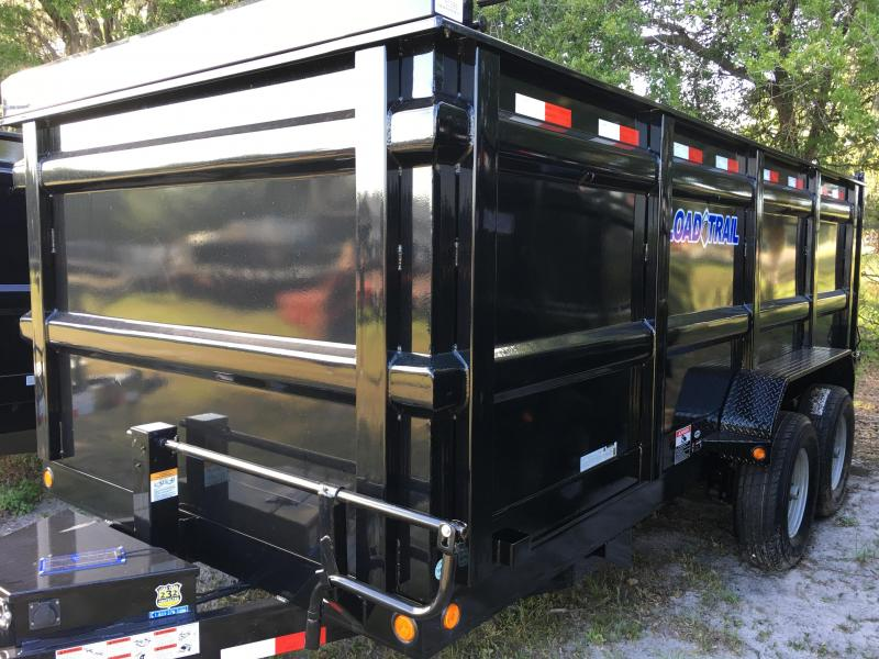 2020 Load Trail 7x16 Dump Trailer (4ft Sides)