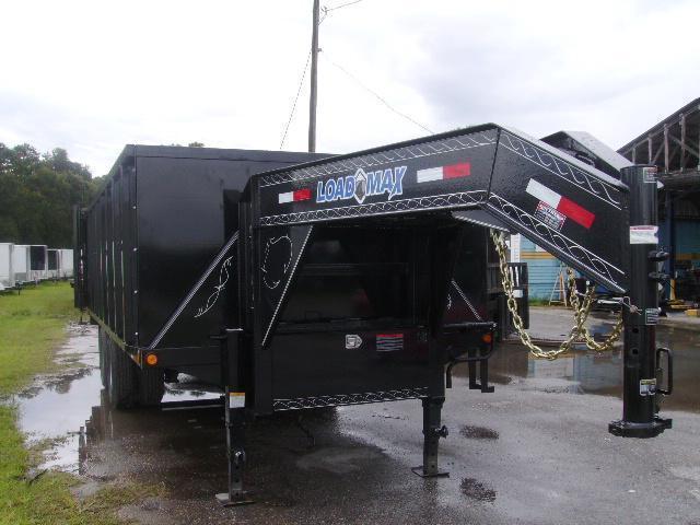 2020 8.5x 20'  Load Trail Gooseneck Deck Over Dump