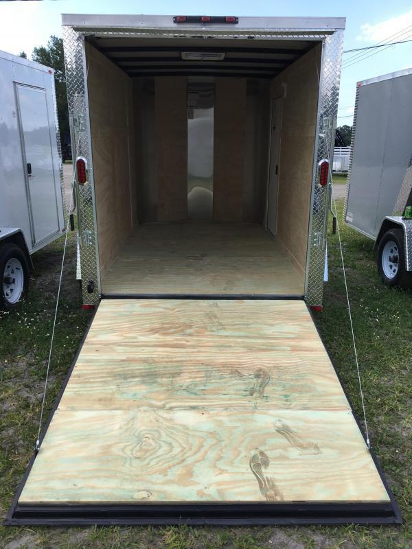 2019 Arising 6x10 Single Axle Enclosed Cargo Trailer