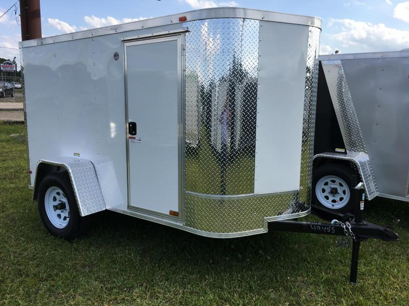 2020 Arising 5x8 Single Axle Enclosed Cargo Trailer