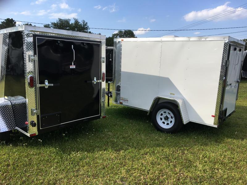 2019 Arising 5x8 Single Axle Enclosed Cargo Trailer