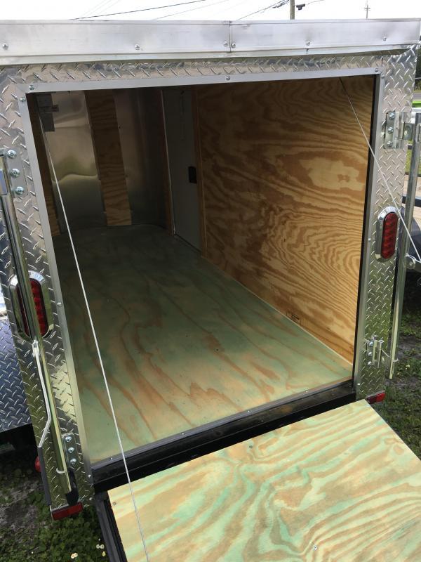 2019 Arising 4x8 Single Axle Enclosed Cargo Trailer