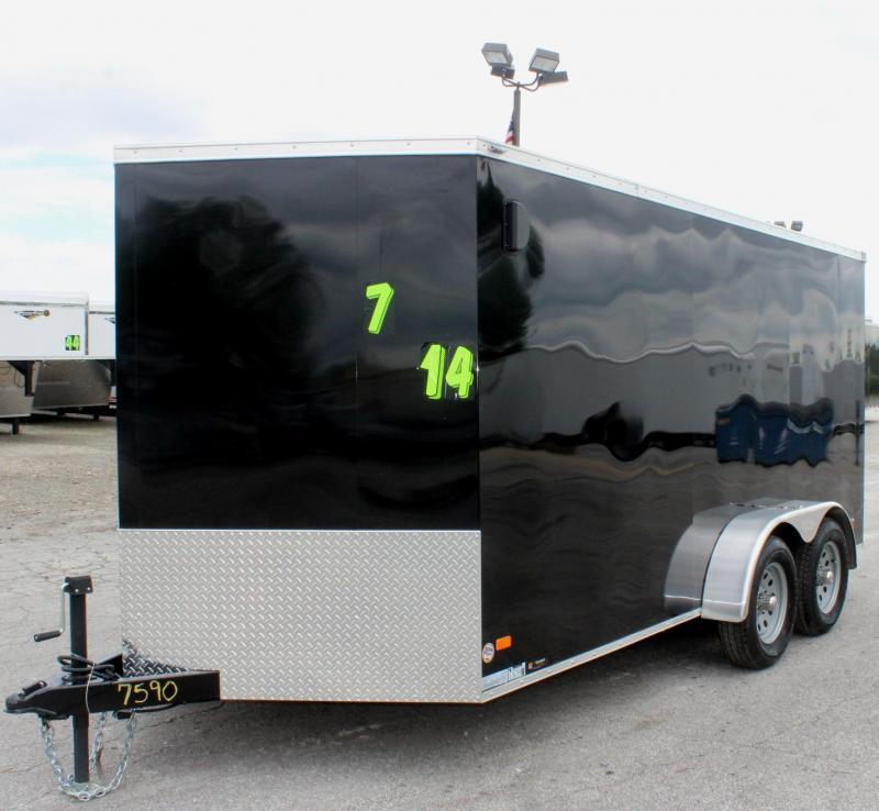 2020 7'x14' Scout Cargo with Ramp Door/ Plus Pkg. PLUS Free Upgrades
