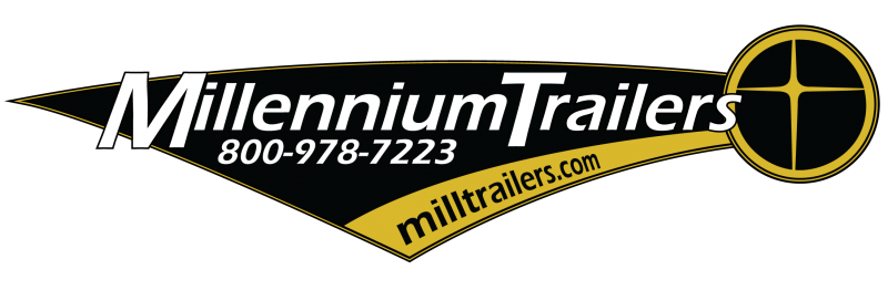 32' Custom Millennium Enclosed Trailer Toy Hauler Sleeps 6!
