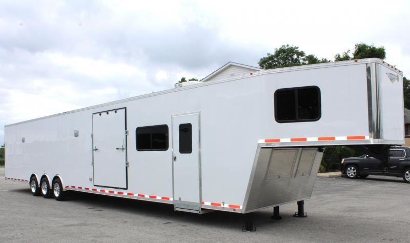 millennium trailers 26 39 custom icon stacker enclosed race. Black Bedroom Furniture Sets. Home Design Ideas