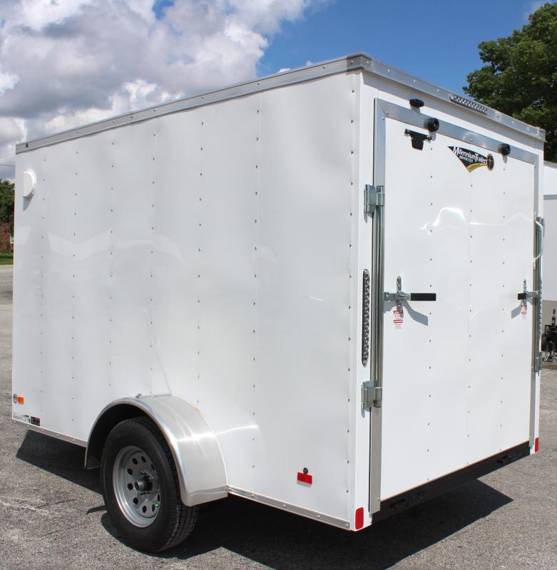 2020 6'x10' Hero Economy Enclosed Cargo Trailer with Ramp Door
