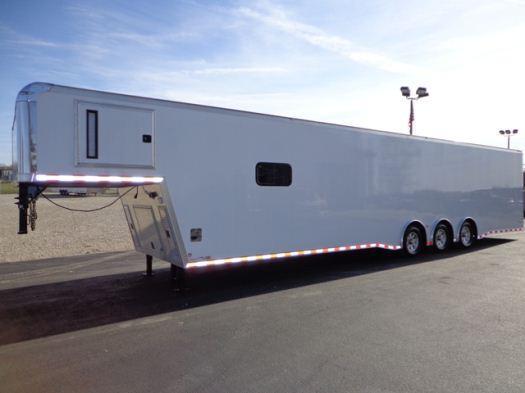 2020 44'  Icon Gooseneck Enclosed Race Car Trailer in  IN