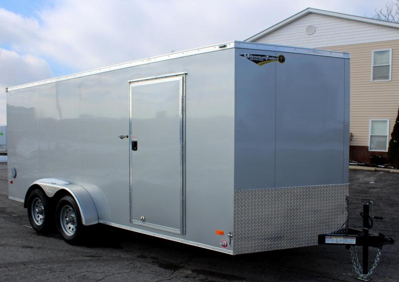 7'x16' Scout Enclosed Cargo Trailer with Plus Pkg. & Free Options