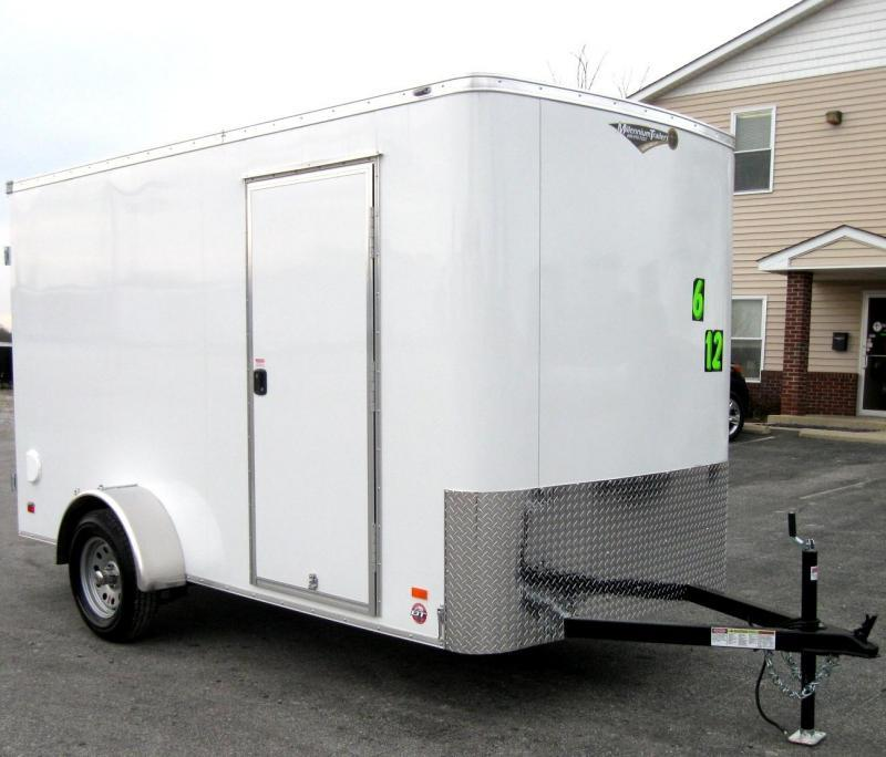 "<b>CLEARANCE</b>  6'x12' Scout Double Door Cargo 6"" Extra High PLUS Free Upgrades"