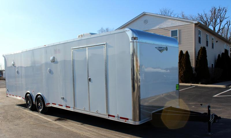 <b>It's a WOW!</b> 2020 30' Millennium Platinum Car Trailer