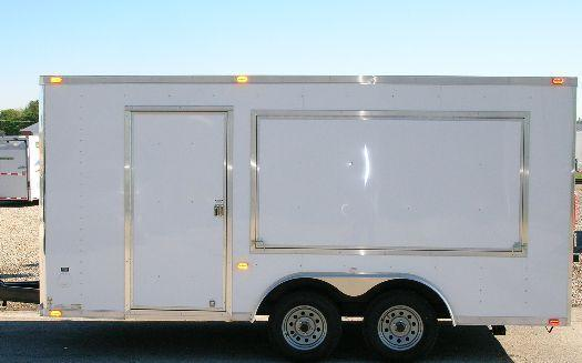 Millennium Custom Enclosed Vending Trailer