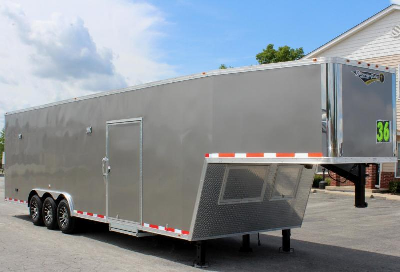 <b>READY 4/9</b> 2020 36' Millennium Silver GN Pewter Screwless Exterior Loaded Out!