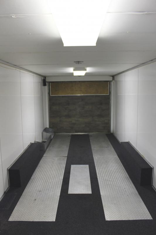 <b>Garage Kept Pre-Owned</b> 1996  26' Enclosed Race Trailer Lots of Options!